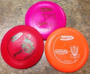 Set of discs